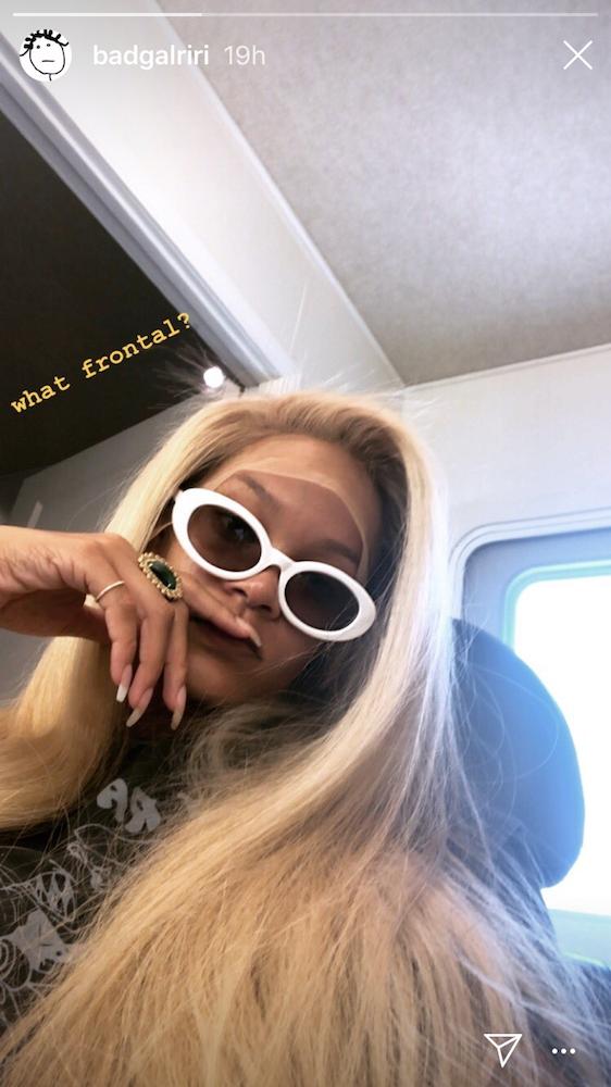 rihanna, blonde