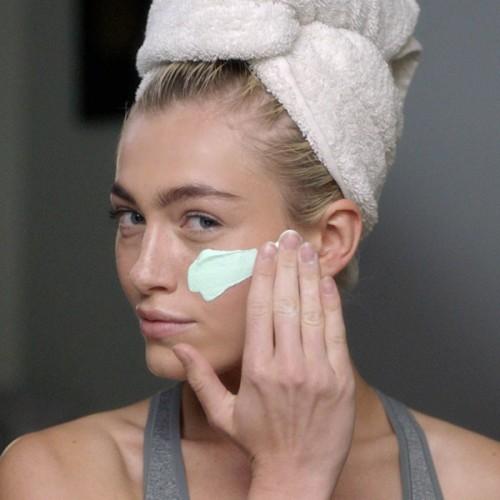 skin, model, skincare, maska,