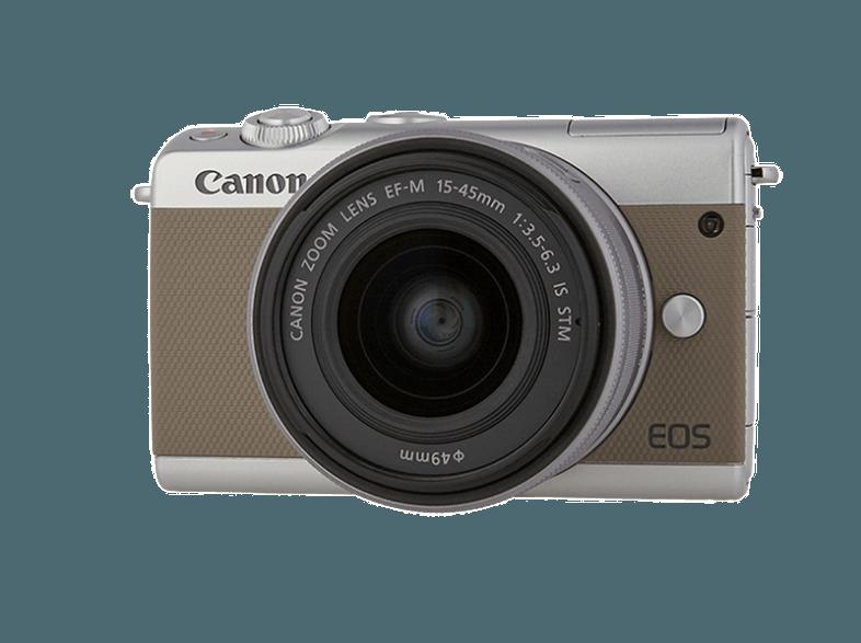 CANON-EOS-M100-με-φακό-15-45mm-Grey