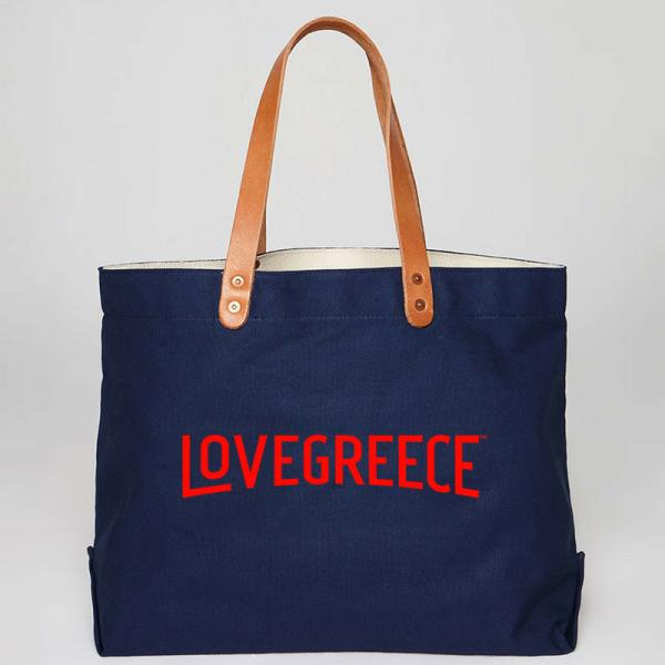 Lovegreece 2 - blue -red
