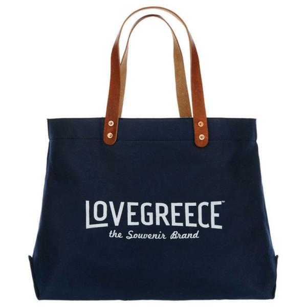 Lovegreece 4 - Navy Blue White