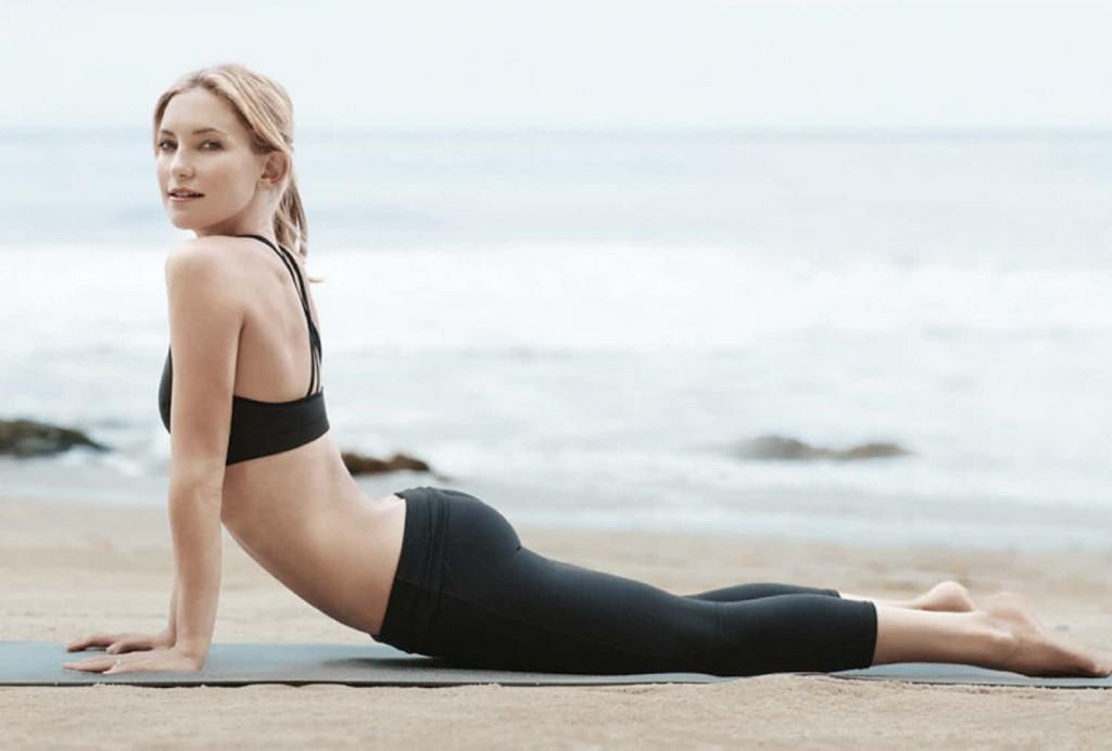 kate hudson yoga