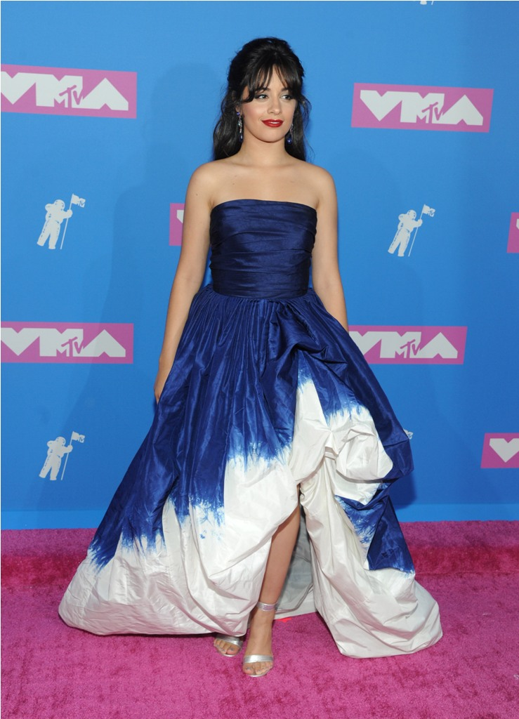 attends the MTV VMA  awards show at Radio City Music Hall on August 20, 2018 in New York City.  Pictured: Camila Cabello Ref: SPL5017367 210818 NON-EXCLUSIVE Picture by: Jackie Brown / SplashNews.com  Splash News and Pictures Los Angeles: 310-821-2666 New York: 212-619-2666 London: 0207 644 7656 Milan: +39 02 4399 8577 Sydney: +61 02 9240 7700 photodesk@splashnews.com  World Rights
