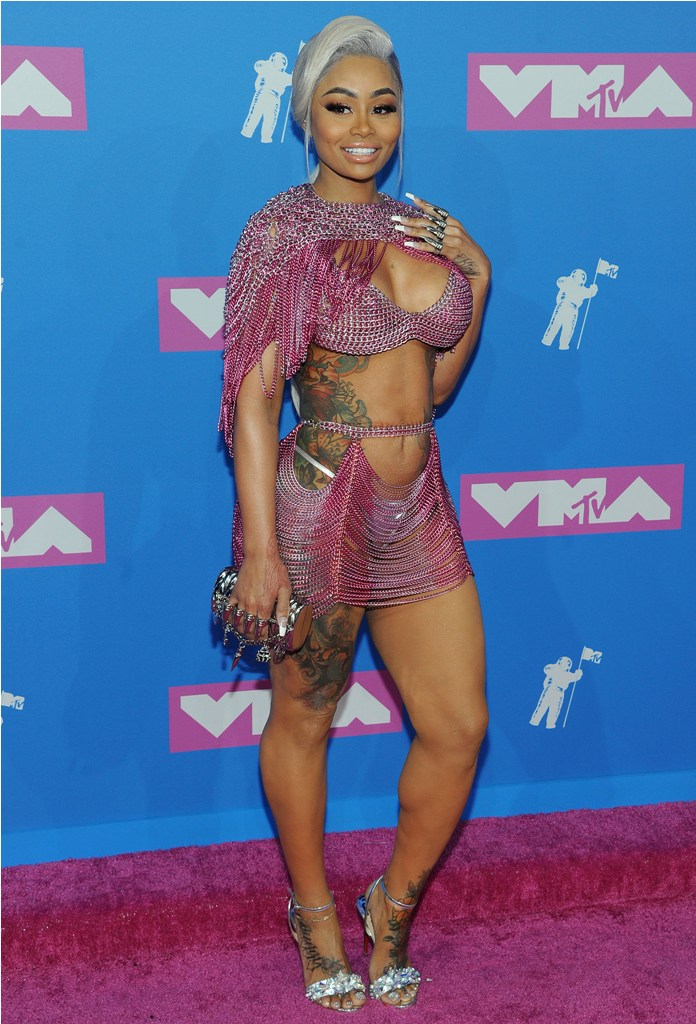 2018 MTV Video Music Awards in New York, NY.  Pictured: Blac Chyna,Jennifer Lopez Ref: SPL5017556 200818 NON-EXCLUSIVE Picture by: SplashNews.com  Splash News and Pictures Los Angeles: 310-821-2666 New York: 212-619-2666 London: 0207 644 7656 Milan: +39 02 4399 8577 Sydney: +61 02 9240 7700 photodesk@splashnews.com  World Rights, No France Rights