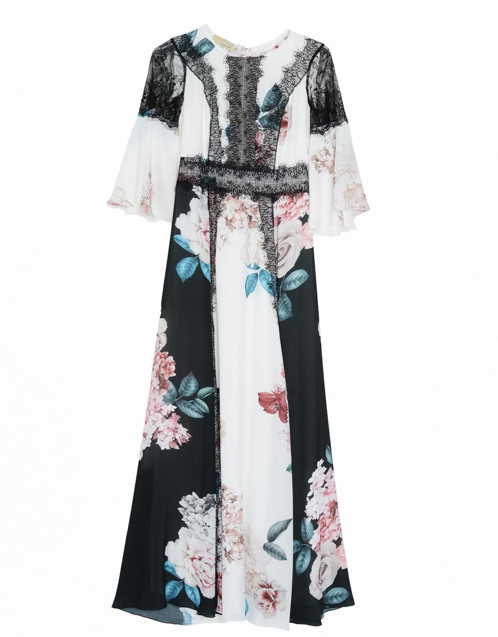 Αν δεν είναι το μάξι φλοράλ φόρεμα το απόλυτο πασπαρτού κομμάτι της σεζόν c170ef0f8cf