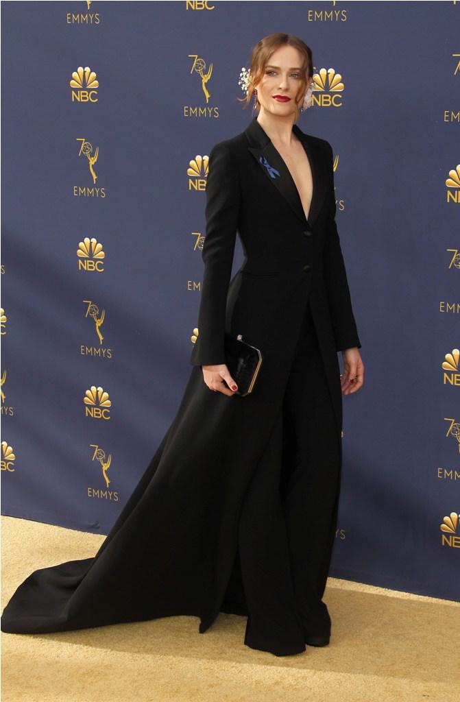 2018 Emmy Awards - Los Angeles  Pictured: Evan Rachel Wood Ref: SPL5025245 170918 NON-EXCLUSIVE Picture by: Jen Lowery / SplashNews.com  Splash News and Pictures Los Angeles: 310-821-2666 New York: 212-619-2666 London: 0207 644 7656 Milan: +39 02 4399 8577 Sydney: +61 02 9240 7700 photodesk@splashnews.com  World Rights