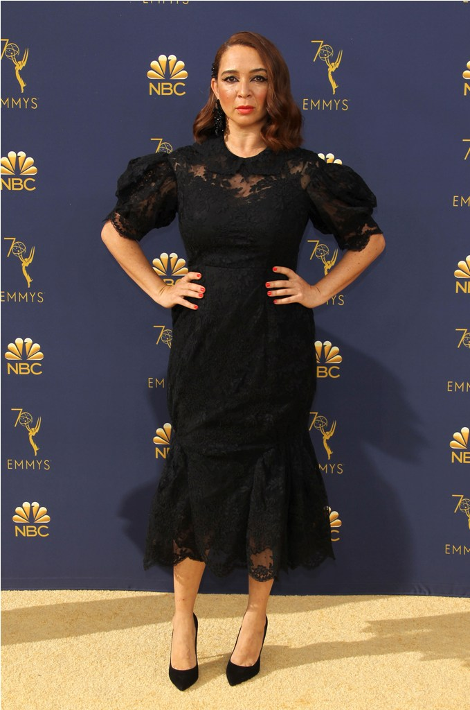 2018 Emmy Awards - Los Angeles  Pictured: Maya Rudolph Ref: SPL5025249 170918 NON-EXCLUSIVE Picture by: Jen Lowery / SplashNews.com  Splash News and Pictures Los Angeles: 310-821-2666 New York: 212-619-2666 London: 0207 644 7656 Milan: +39 02 4399 8577 Sydney: +61 02 9240 7700 photodesk@splashnews.com  World Rights