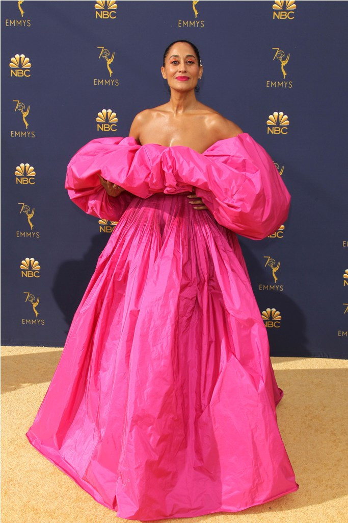2018 Emmy Awards - Los Angeles  Pictured: Tracee Ellis Ross Ref: SPL5025253 180918 NON-EXCLUSIVE Picture by: Jen Lowery / SplashNews.com  Splash News and Pictures Los Angeles: 310-821-2666 New York: 212-619-2666 London: 0207 644 7656 Milan: +39 02 4399 8577 Sydney: +61 02 9240 7700 photodesk@splashnews.com  World Rights