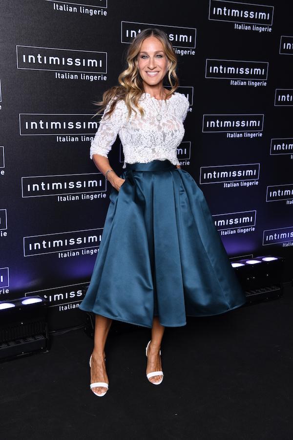Intimissimi Fashion Show 2018 Ph. Daniele Venturelli Sarah Jessica Parker για την Intimissimi