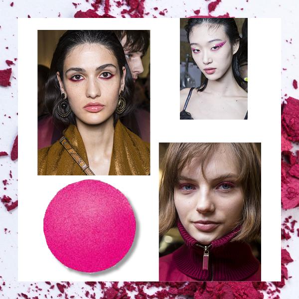 pink eyeshadow roz skia ροζ σκιά