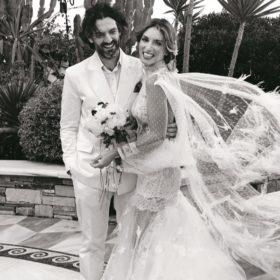 Αθηνά Οικονομάκου – Φίλιππος Μιχόπουλος: Το φωτογραφικό άλμπουμ του γάμου τους