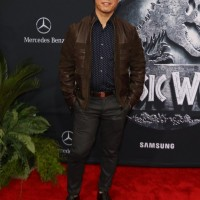 'Jurassic World' premiere arrivals in Los Angeles. Pictured: BD Wong,Angie Harmon daughters BD Wong Brian Tee Mirelly Taylor Ref: SPL1050422 100615 NON-EXCLUSIVE Picture by: SplashNews.com Splash News and Pictures Los Angeles: 310-821-2666 New York: 212-619-2666 London: 0207 644 7656 Milan: +39 02 4399 8577 Sydney: +61 02 9240 7700 photodesk@splashnews.com World Rights