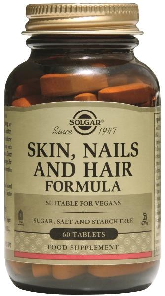 Το Skin, Nails & Hair της Solgar συμβάλλει στον σχηματισμό δυνατών και υγιών νυχιών