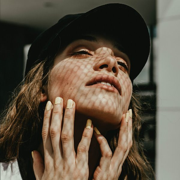 woman hands spots