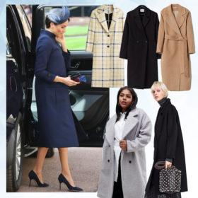 Πέντε παλτό που πρέπει να αγοράσεις το χειμώνα για να μοιάζεις στη Meghan Markle