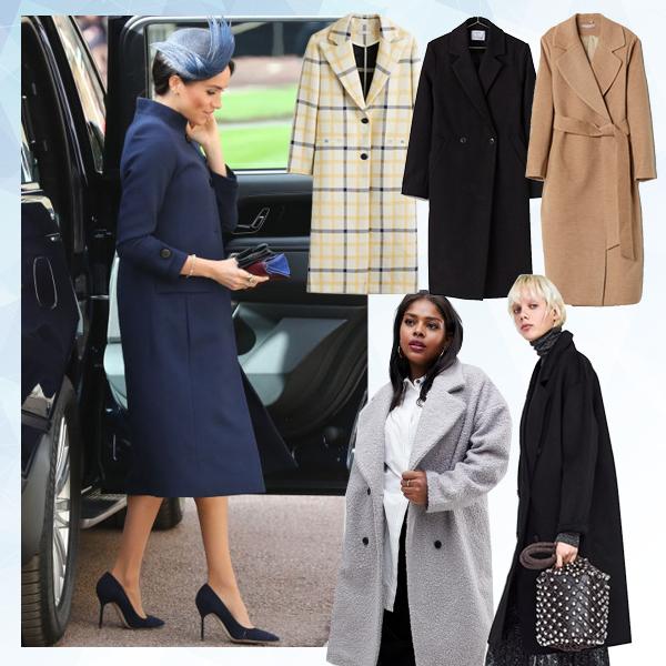 Πέντε παλτό που θα φόραγε η Meghan Markle