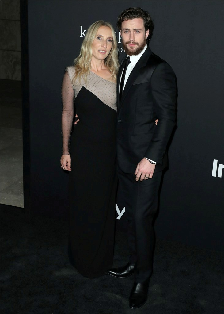 Celebrities at the 4th Annual InStyle Awards at The Getty Center in Los Angeles, CA.  Pictured: Sam Taylor-Johnson,Aaron Taylor,Jennifer Aniston Ref: SPL5035653 221018 NON-EXCLUSIVE Picture by: SplashNews.com  Splash News and Pictures Los Angeles: 310-821-2666 New York: 212-619-2666 London: 0207 644 7656 Milan: +39 02 4399 8577 Sydney: +61 02 9240 7700 photodesk@splashnews.com  World Rights, No Austria Rights, No Germany Rights, No Switzerland Rights