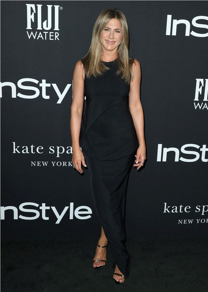 Celebrities at the 4th Annual InStyle Awards at The Getty Center in Los Angeles, CA.  Pictured: Jennifer Aniston Ref: SPL5035653 221018 NON-EXCLUSIVE Picture by: SplashNews.com  Splash News and Pictures Los Angeles: 310-821-2666 New York: 212-619-2666 London: 0207 644 7656 Milan: +39 02 4399 8577 Sydney: +61 02 9240 7700 photodesk@splashnews.com  World Rights, No Austria Rights, No Germany Rights, No Switzerland RightsCelebrities at the 4th Annual InStyle Awards at The Getty Center in Los Angeles, CA.  Pictured: Jennifer Aniston Ref: SPL5035653 221018 NON-EXCLUSIVE Picture by: SplashNews.com  Splash News and Pictures Los Angeles: 310-821-2666 New York: 212-619-2666 London: 0207 644 7656 Milan: +39 02 4399 8577 Sydney: +61 02 9240 7700 photodesk@splashnews.com  World Rights, No Austria Rights, No Germany Rights, No Switzerland Rights
