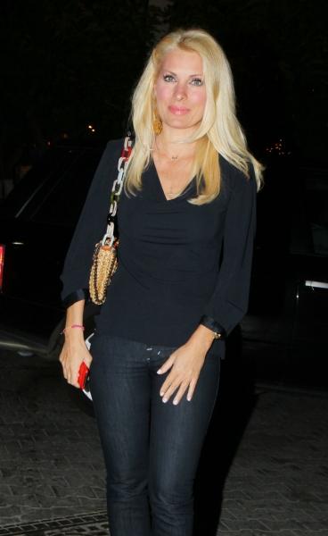 2012 Eleni Menegaki Ελένη Μενεγάκη ξανθά μαλλιά