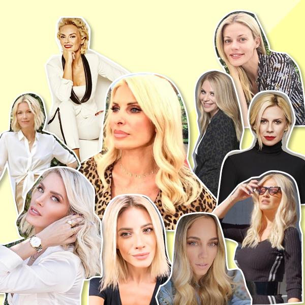 τηλεοπτικό ξανθό μαλλί