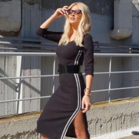 Φαίη Σκορδά:  Έκανε έναν πολύ πετυχημένο και inspirational χρωματικό συνδυασμό για τους προσεχείς μήνες