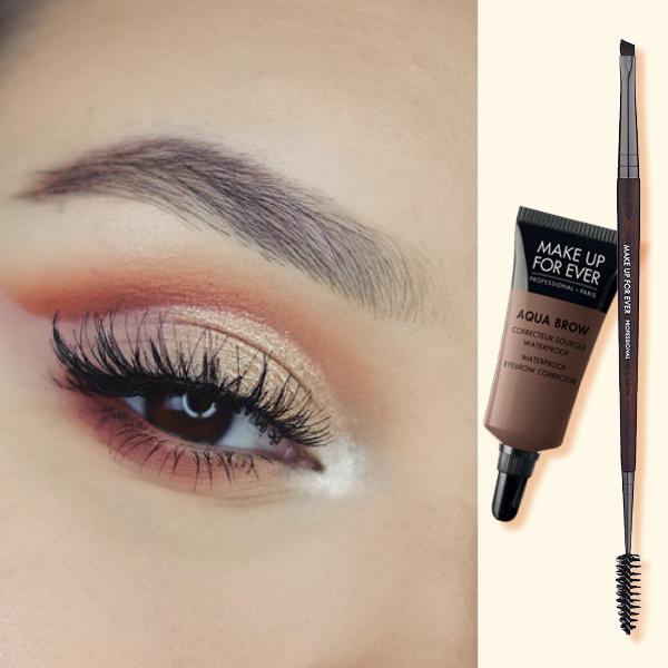 makeup forever eyebrows πυκνά φρύδια