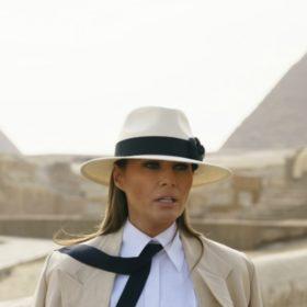 Melania Trump: Έξι ώρες στην Αίγυπτο κόστισαν 95.000 δολάρια
