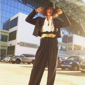 Nadine Anzawi: Η stylish παίκτρια του MSR με την έφηβη κόρη