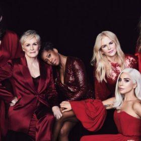 Η 71χρονη Glenn Close ποζάρει στα κόκκινα με άλλες πέντε stars και αποκαλύπτει: «Με παρενόχλησε διάσημος ηθοποιός»