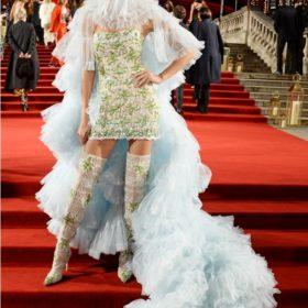 Όλες οι celebrities που φόρεσαν Σίλια Κριθαριώτη στα Fashion Awards του British Fashion Council