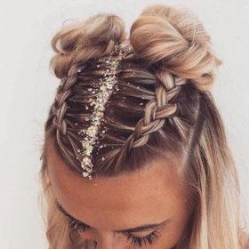 #GlitterHair: Αυτό είναι το τέλειο Χριστουγεννιάτικο trend για τα μαλλιά