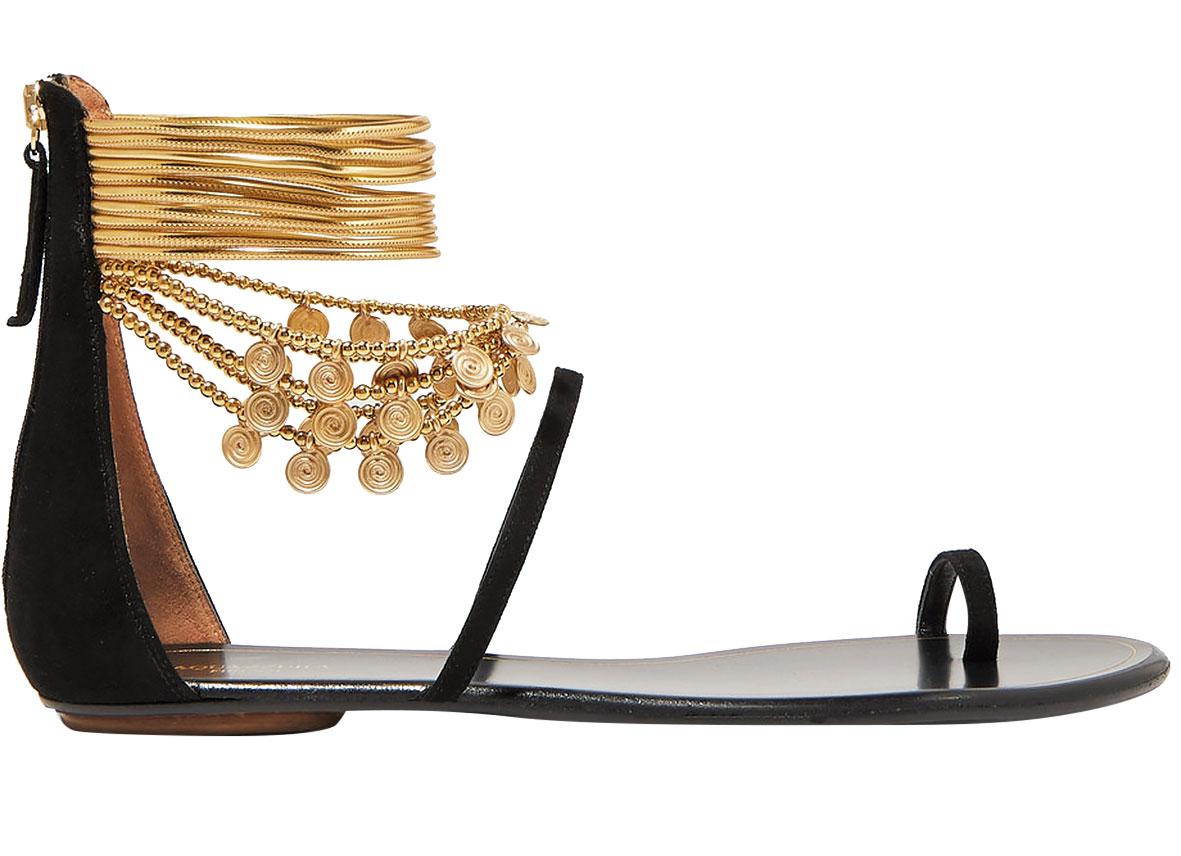 aquazzuraqueenofthedesertembellished-suede-sandals