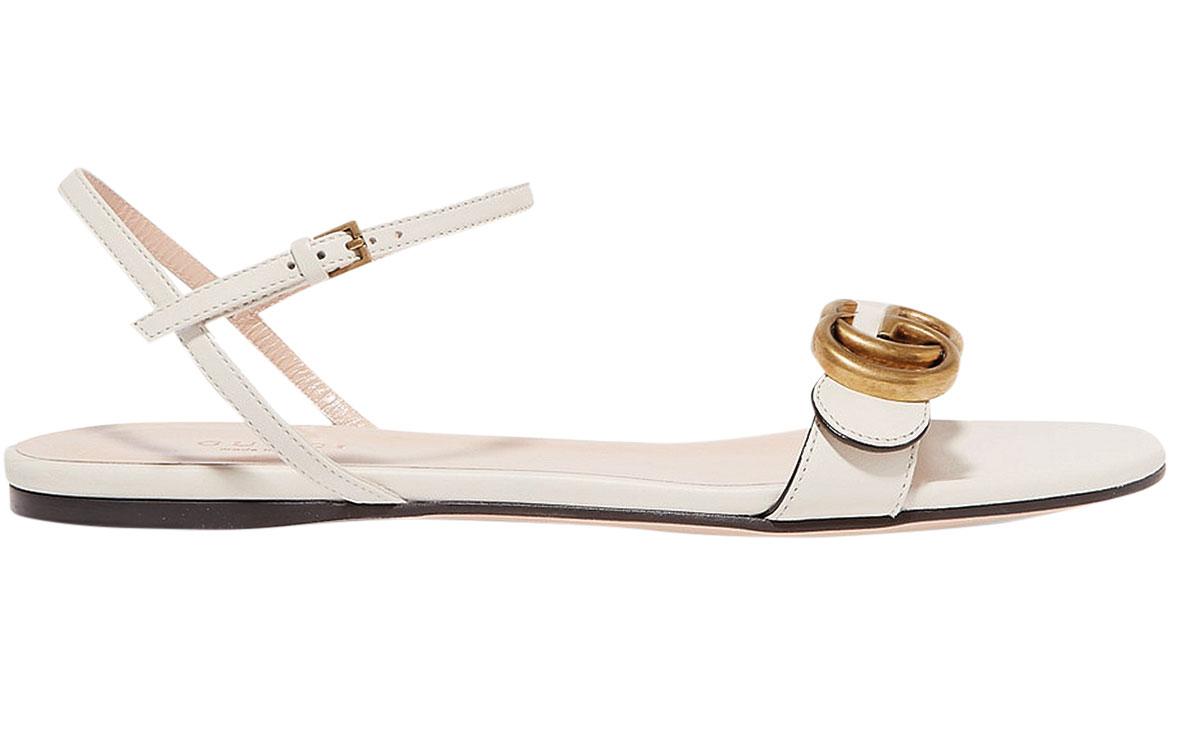 guccimarmontlogoembellishedleather-sandals