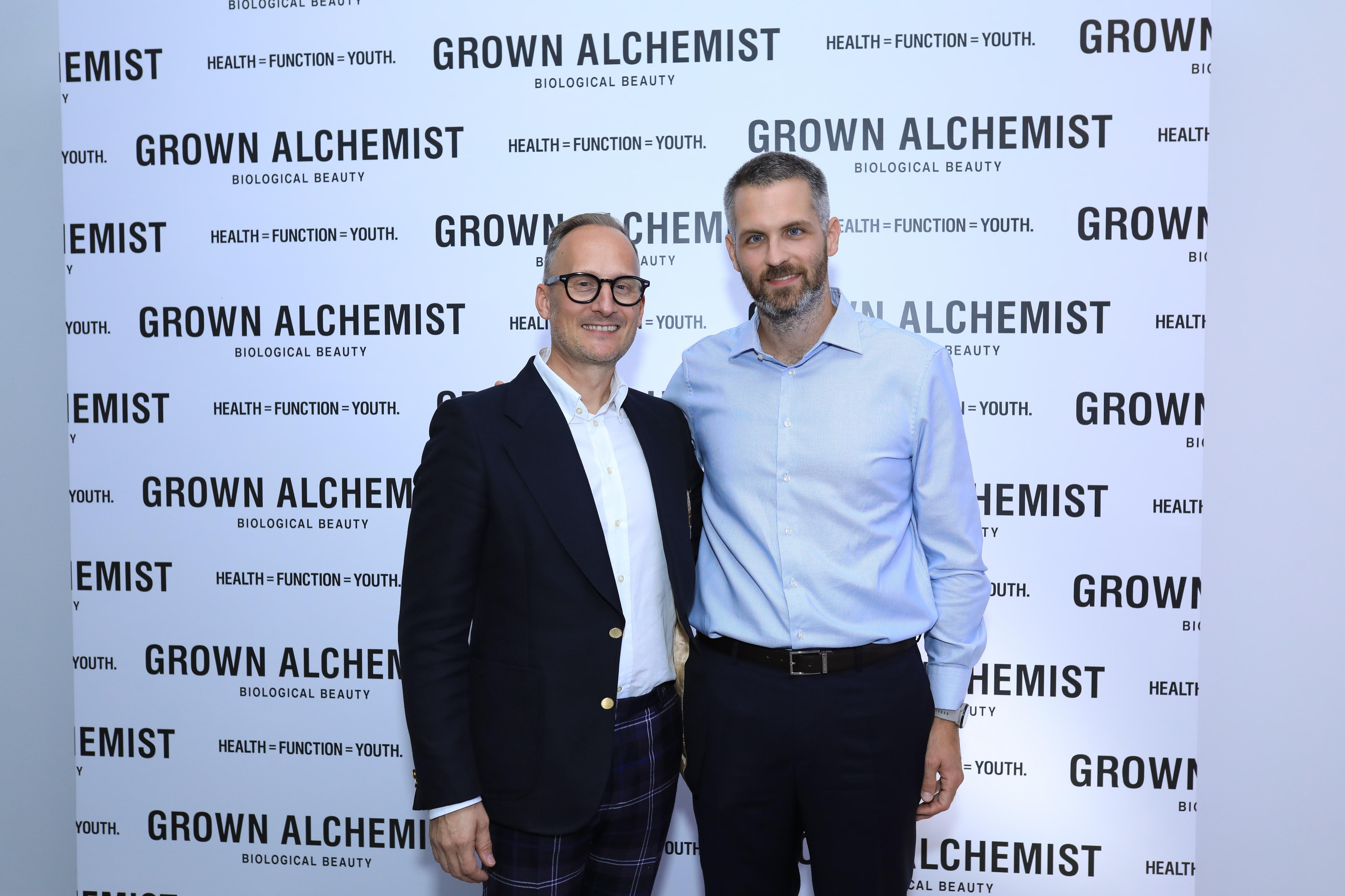 Jeremy Muijs (Συνιδρυτής Grown Alchemist) – Ζάκης Σαράντης (Γενικός Διευθυντής Επιλεκτικής Ομίλου Σαράντη)