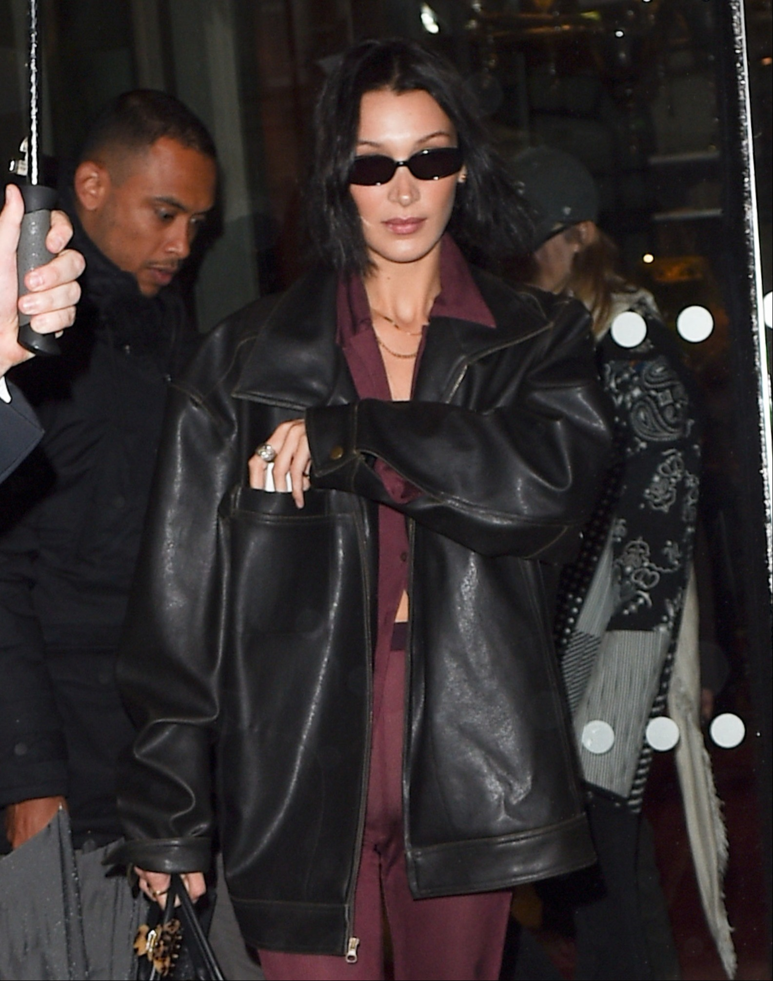 bella-hadid-and-gigi-hadid-are-seen-leaving-paris-fashion-week-to-go-back-to-new-york