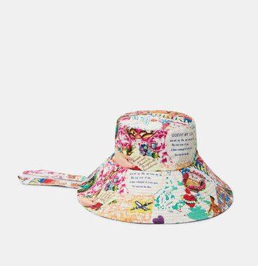 Wide brim hat strap